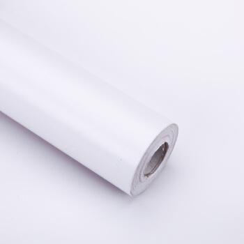 図面(sitoo)PVC无地壁紙モノクロ粘着式壁紙直接ベルドラム寮家具を貼り付けて45 cm*10 m白色を貼ります。