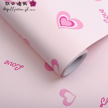 秋田粘着式壁紙テープ壁紙は防水性のある部屋に貼ってあります。