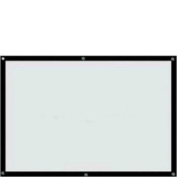 投影壁紙3 D高精細投影スクリーン投影家庭用プロジェクターカーテン壁掛け投影幕幕携帯幕カスタム72型4対3 1.46 x 1.1 mホワイトフィギュア