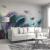 セン美人現代簡単約5 d立体テレビ背景の壁壁紙北欧スタイル居間手描き羽毛壁布大気ベドラム壁紙壁画デザイン1 3 Dシームレス油絵布/平方メートル