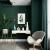 ムグンソク無地のテレビ背景の壁紙は緑が濃くて濃い。