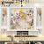 五宮格壁画居間テレビ壁3 dベム背景の壁装飾18 d壁掛けテレビ背景装飾壁5宮格ホールテレビ背景の壁8 d壁壁壁映画とテレビの壁55001 3 Dシルク布55元/平方メートル(シームレス整張)