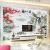 現代中国風の山水画壁紙壁画居間テレビ背景の壁壁紙、水墨映画壁紙、天道報勤事務室、励志貼部屋装飾ウォーカー画シームレス輸入8 D水晶シルク108/平方