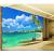 恵菲楽は3 D地中海のベッドルムの居間をカスタマイズして5 dテレビの背景の壁紙を飾ります。映画とテレビの壁は簡単に壁画の風景を描きます。砂浜はシームレスで、スイスのシームレスな珠光布です。