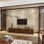 慕槿斯格新中国式テレビ背景の壁花鳥壁紙をカスタマイズしました。壁画の居間ソファとテレビの壁布ベベルです。すきまなく壁紙が浮き上がっています。