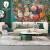 壁の仙境の北欧の手描きの油絵のバラの花の壁紙を描いて居間のテレビの背景の壁紙の映画とテレビのアメレオン式の張カステラの壁画のベッドムの絵を描いています。
