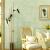 万戸壁紙(WanHu Wallpaper)アメリカの田舎の復古の壁紙を作って、古い壁紙のベッドルームの居間の部屋の仕事部屋はどこもいっぱいになって布の壁紙を敷きません。