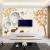 カメレオンテレビ背景の壁壁壁紙8 D水晶立体現代居間装飾壁画3 D防水性壁紙北欧抽象幾何学ムーア5 Dシームレスな壁掛け映画とテレビの壁北欧鹿A 3 Dシームレスシルク布/平方メートル