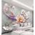 恵菲楽は3 D壁紙をカスタマイズして、立体壁画の壁紙を浮き彫りします。新中国式のシームレスな装飾画5 d居間ソファテレビの背景の壁紙。