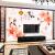 恵菲楽カスタムテレビ背景の壁壁紙3 D中国式シームレス壁紙居間5 D浮き彫りベドラム壁紙壁画不織布家とフランス宮廷シームレス油絵布/平方メートルあたり