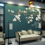 近代的な新中国式の花鳥壁紙8 Dテレビ背景の壁紙は部屋の中に置いて軽くて贅沢な装飾の壁紙を注文して壁画を注文します。