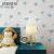 錦のクラスタ壁紙粘着式不織布壁紙壁紙ベドテレビ背景の壁の子供部屋のハート型壁紙衣類店の家具のリニューアル粘着式壁紙の青い壁紙の壁紙の壁紙