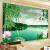 六紋魚3 d立体簡約現代居間ベルムテレビ背景の壁紙壁紙不織布壁画中国式竹家と富貴(一枚ずつ)はハイエンドシルク布を輸入します。