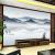 梵帝欧テレビ背景の壁壁画8 D現代新中国語雰囲気山水画5 D立体居間ソファ装飾壁紙防水性壁紙ホテル3 D壁紙映画とテレビの壁旭日東昇E 10 D結晶彫刻シームレス水晶壁画/平方メートル