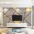 一巻刺繍3 dテレビの背景の壁紙現代簡単な幾何学的な線の間にある壁画のファッション的な個性的な壁紙をカスタマイズして壁紙を貼り付けます。