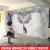 伊尔雅3 d北欧壁紙テレビ背景の壁壁紙5 d現代居間ソファ背景の壁紙。鹿模様壁画16 d影视壁布カスタマイズシームレス壁画(カスタマーサービスに連絡して自分のデザインを選ぶ)3 D輸入シームレスパープル