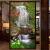 8 D立体山水画玄関5 D壁紙縦版滝壁紙流水壁画居間壁画布8 Dシルクステッカー/平方